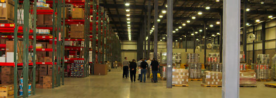online hardware store warehouse with $20 million in inventory